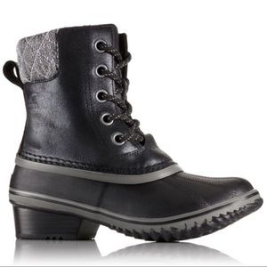 BNIB Sorel Women's Slimpack II Lace boots in Black